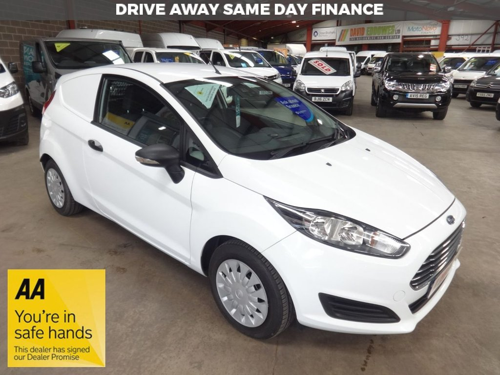 USED 2013 63 FORD FIESTA 1.6 ECONETIC TDCI  94 BHP VAN '' YOU'RE IN SAFE HANDS  ''  WITH THE AA DEALER PROMISE