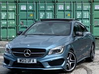USED 2013 13 MERCEDES-BENZ CLA 2.1 CLA200 CDI AMG Sport 7G-DCT 4dr