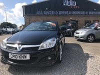 USED 2010 10 VAUXHALL ASTRA 1.8 i Design Twin Top 2dr low mileage 29810