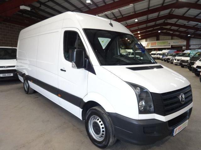 Used Volkswagen vans in Huddersfield from David Eddowes Ltd