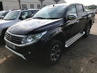 USED 2017 67 FIAT FULLBACK 2.4 LX DCB 1d AUTO 180 BHP SATNAV ONE OWNER FSH (COMMERCIAL £14400+2880 VAT). SATELLITE NAVIGATION. STUNNING BLACK MET WITH BLACK LEATHER TRIM. ELECTRIC HEATED SEATS. CRUISE CONTROL. SIDE STEPS. 17 INCH ALLOYS. COLOUR CODED TRIMS. PRIVACY GLASS. REVERSING CAMERA. EAGLE LOAD COVER. CLIMATE CONTROL WITH AIR CON. BLUETOOTH PREP. PAS. R/CD PLAYER. AUTO GEARBOX. MFSW. ONE OWNER FROM NEW. SERVICE HISTORY. PRESTIGE SUV CENTRE LS24 8EJ TEL 01937 849492 OPTION 1