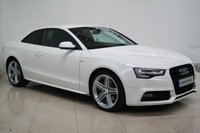 USED 2012 12 AUDI A5 2.0 TDI BLACK EDITION 2d 177 BHP