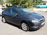 """USED 2010 10 FORD FOCUS 1.6 ZETEC TDCI 5d 109 BHP £30 RFL, FULL SERVICE HISTORY, CLIMATE PACK, SPORT PACK, 17"""" ALLOYS, PRIVACY GLASS"""