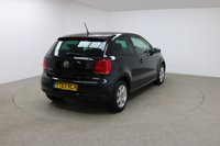 USED 2013 63 VOLKSWAGEN POLO 1.2 MATCH EDITION 3d 59 BHP 1 OWNER + FULL SERVICE HISTROY + DAB RADIO + AIR CON + REAR PARKING SENSORS + LOW INSURANCE GROUP + GOOD 1ST CAR
