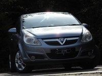 USED 2008 08 VAUXHALL CORSA 1.4 DESIGN 3d 90 BHP DRIVES SUPERB A/C PSH VGC