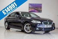 2015 BMW 5 SERIES 2.0 520D M SPORT 4d AUTO 190 BHP £14991.00