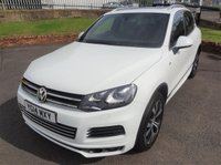 USED 2014 14 VOLKSWAGEN TOUAREG 3.0 V6 R-LINE TDI BLUEMOTION TECHNOLOGY 5d AUTO 242 BHP 3 Months National Warranty - 1 Previous Owner - High Specification