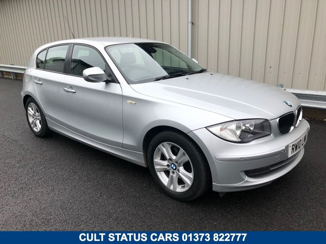 2010 10 BMW 1 SERIES 2.0 118I SE 5d AUTO 141 BHP PETROL