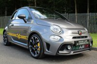 USED 2019 19 ABARTH 595 1.4 595 COMPETIZIONE 3d 177 BHP A STUNNING LITTLE CAR THAT HAS LESS THAN 1,000 MILES!!!