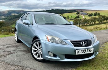 2009 LEXUS IS 2.5 250 SE-I 4d AUTO 204 BHP £5495.00