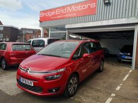 USED 2016 16 CITROEN C4 GRAND PICASSO 1.6 BLUEHDI SELECTION 5d 118 BHP 7 SEATS WITH ONLY 11703 MILES FROM NEW! LOW CO2 EMISSIONS GREAT SPECIFICATION INCLUDING ALLOYS, AIR CONDITIONING, PARKING SENSORS, CRUISE CONTROL, DAB RADIO, BLUETOOTH AND PANORAMIC ROOF!