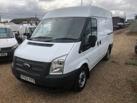 USED 2013 62 FORD TRANSIT 2.2 280 1d 99 BHP ONLY 61000 MILES * AIR/CON * QUALITY RACKING SYSTEM