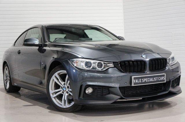 2014 14 BMW 4 SERIES 2.0 420I XDRIVE M SPORT AUTO (SAT NAV)