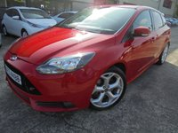 USED 2013 FORD FOCUS 2.0 ST-2 5d 247 BHP Superb Condition, No Fee Finance Available, No Deposit Required, Part Ex Welcomed