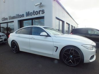 2016 BMW 4 SERIES 2.0 420D SE GRAN COUPE 4d 188 BHP SPORTS SEATS & SAT NAV £14900.00