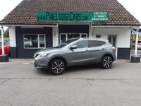 USED 2014 63 NISSAN QASHQAI 1.5 DCI TEKNA 5d 108 BHP FINANCE AND PART EXCHANGE WELCOME. 3 MONTHS WARRANTY. ALL CARS HAVE A YEAR MOT AND A FRESH SERVICE.