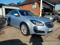 USED 2014 14 VAUXHALL INSIGNIA 2.0 ELITE CDTI ECOFLEX S/S 5d 138 BHP ONE OWNER,CRUISE,TWO KEYS,LEATHER,PARKING SENSORS,BLUETOOTH