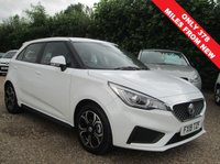 USED 2019 19 MG 3 1.5 EXCITE VTI-TECH 5d 106 BHP SAVE £2,596 AGAINST A BRAND NEW MG 3 EXCITE