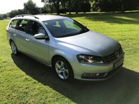 USED 2014 64 VOLKSWAGEN PASSAT 1.6 S TDI BLUEMOTION TECHNOLOGY 5d 104 BHP **EXCELLENT FINANCE PACKAGES**1 OWNER FROM NEW**MAIN DEALER SERVICE HISTORY**ESTATE**£30 ROAD TAX**