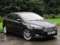 USED 2016 66 FORD FOCUS 1.0 ZETEC 5d 100 BHP LOW MILEAGE FAMILY HATCHBACK