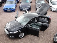 USED 2015 65 FORD MONDEO 2.0 TITANIUM ECONETIC TDCI 5d 148 BHP SAT NAV, FULL LEATHER, HEATED SEATS, BLUETOOTH, £20 ROAD TAX