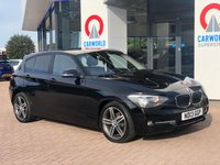 USED 2013 13 BMW 1 SERIES 2.0 118D SPORT 5d 141 BHP LEATHER | ALLOYS | AIR CON |
