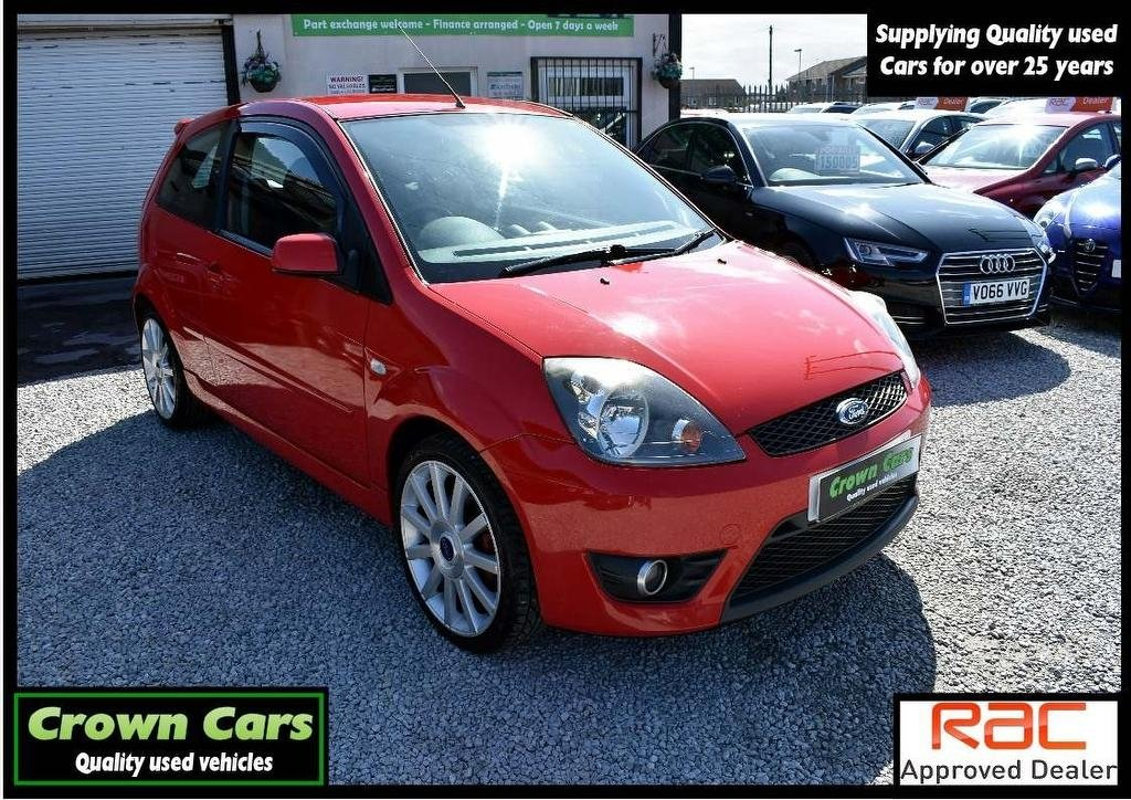 USED 2007 57 FORD FIESTA 2.0 ST 3dr 3 MONTHS WARRANTY & PDI CHECKS