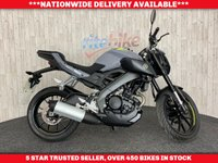 USED 2016 66 YAMAHA MT-125 MT 125 ABS MODEL 1 OWNER LOW MILEAGE EXAMPLE 2016 66