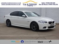 USED 2014 64 BMW 5 SERIES 2.0 520D M SPORT 4d AUTO 188 BHP BMW Dealer History Huge Spec Buy Now, Pay Later Finance!