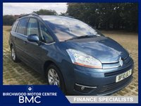 USED 2010 10 CITROEN C4 GRAND PICASSO 2.0 EXCLUSIVE HDI EGS 5d 134 BHP