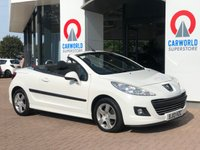 USED 2013 13 PEUGEOT 207 CC 1.6 CC ACTIVE 2d 120 BHP ALLOYS | AIR CONDITIONING |