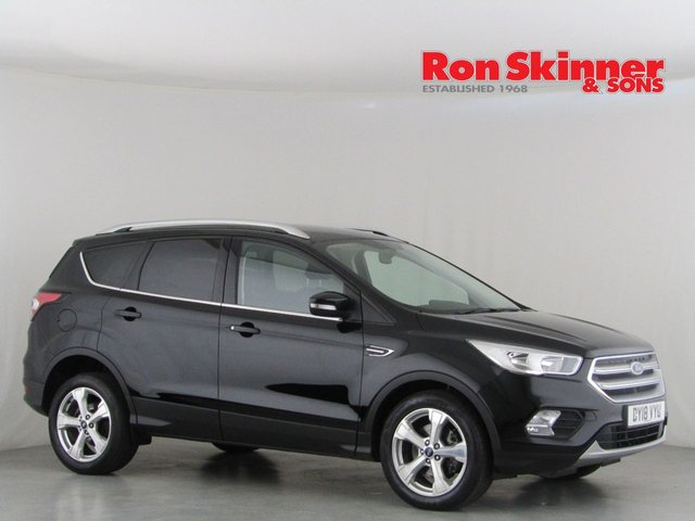 View our 2018 18 FORD KUGA 1.5 ZETEC TDCI 5d AUTO 119 BHP with Rear Privacy Glass
