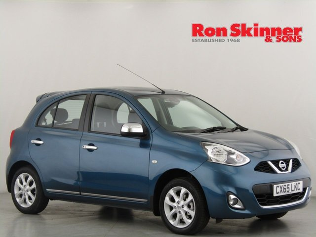 View our 2015 65 NISSAN MICRA 1.2 ACENTA 5d 79 BHP