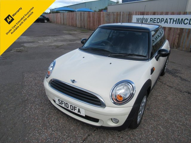 Used MINI cars in Edinburgh from Redpath and Mclean