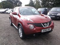 USED 2011 60 NISSAN JUKE 1.6 TEKNA 5d 117 BHP High Spec Juke With Full Nissan Service History and a Year Long MOT!