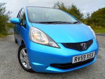 2009 HONDA JAZZ 1.3 I-VTEC ES I-SHIFT 5d AUTO 98 BHP ** AUTOMATIC, YES ONLY 46K, AIRCON, ELECTRIC WINDOW,  £125 ROAD TAX, SUPERB VEHICLE ** £4495.00