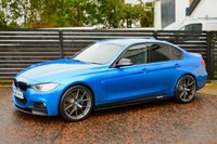 USED 2015 65 BMW 3 SERIES 2.0 320D M SPORT 4d AUTO ESTORIL BLUE 6 MONTHS RAC WARRANTY FREE + 12 MONTHS ROAD SIDE RECOVERY!