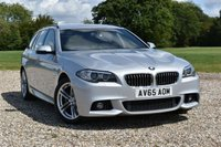 USED 2015 65 BMW 5 SERIES 2.0 520D M SPORT TOURING 5d AUTO 188 BHP