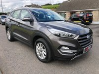 USED 2016 HYUNDAI TUCSON 1.7 CRDI SE NAV BLUE DRIVE (WARRANTY TO 2021)