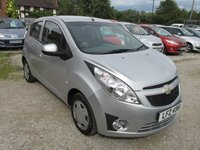 USED 2012 CHEVROLET SPARK 1.0 LS 5DR LOW TAX AIRCON LOW TAX AND INSURANCE SERVICE HISTORY