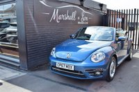 USED 2018 67 VOLKSWAGEN BEETLE 1.2 DESIGN TSI BLUEMOTION TECHNOLOGY 2d 104 BHP CABRIOLET STUNNING LOW MILEAGE EXAMPLE - VW S/H - ONE PREVIOUS KEEPER - 18 INCH DISCUS ALLOYS - USB - DAB RADIO