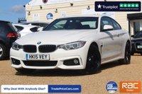 USED 2015 15 BMW 4 SERIES 2.0 418D M SPORT 2d 148 BHP