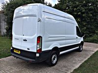 USED 2016 66 FORD TRANSIT 2.2 350 H/R P/V 1d 124 BHP ULEZ COMPLIANT, LONG AND HIGH, 125 BHP