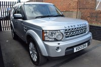 USED 2013 13 LAND ROVER DISCOVERY 4 3.0 4 SDV6 XS 5d AUTO 255 BHP GREAT VALUE 2013 DISCO 4 - 8 STAMPS TO 89K - FULL LEATHER - SAT NAV - HEATED SEATS - PRIVACY GLASS - 19 INCH ALLOY WHEELS