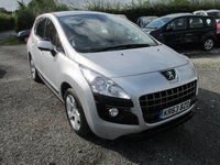 USED 2013 63 PEUGEOT 3008 1.6 HDI ACTIVE 5d 115 BHP EXCELLENT MPG LOW MILES SERVICE HISTORY