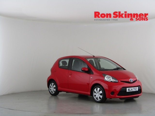 View our 2014 14 TOYOTA AYGO 1.0 VVT-I MOVE MM 5d 68 BHP