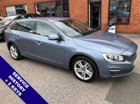 """USED 2016 66 VOLVO V60 2.4 D5 TWIN ENGINE SE NAV 5DOOR AUTO 231 BHP DAB Radio   :   Satellite Navigation   :   USB & AUX Sockets   :   Car Hotspot / WiFi     Cruise Control / Speed Limiter   :   Bluetooth Connectivity   :   Climate Control / Air Con                                       Heated Front Seats   :   Full Black Leather Upholstery   :   Rear Parking Sensors      17"""" Alloy Wheels   :   2 Keys   :   Service History"""