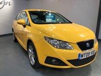 2009 SEAT IBIZA 1.4 SE 3d 85 BHP £2495.00