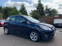 2013 FORD C-MAX 1.0 ZETEC 5d ECOBOOST, 1 OWNER FROM NEW 6 SERVICE STAMPS  £6750.00