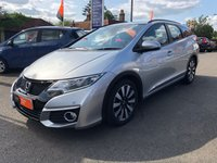 USED 2016 16 HONDA CIVIC 1.8 I-VTEC SE PLUS TOURER 5d AUTO 140 BHP [NAVIGATION] ** RAC BUYSURE INSPECTED **